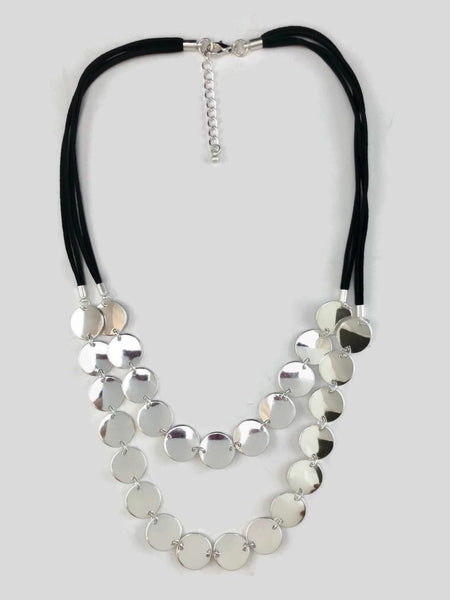 SHINY DIMES NECKLACE