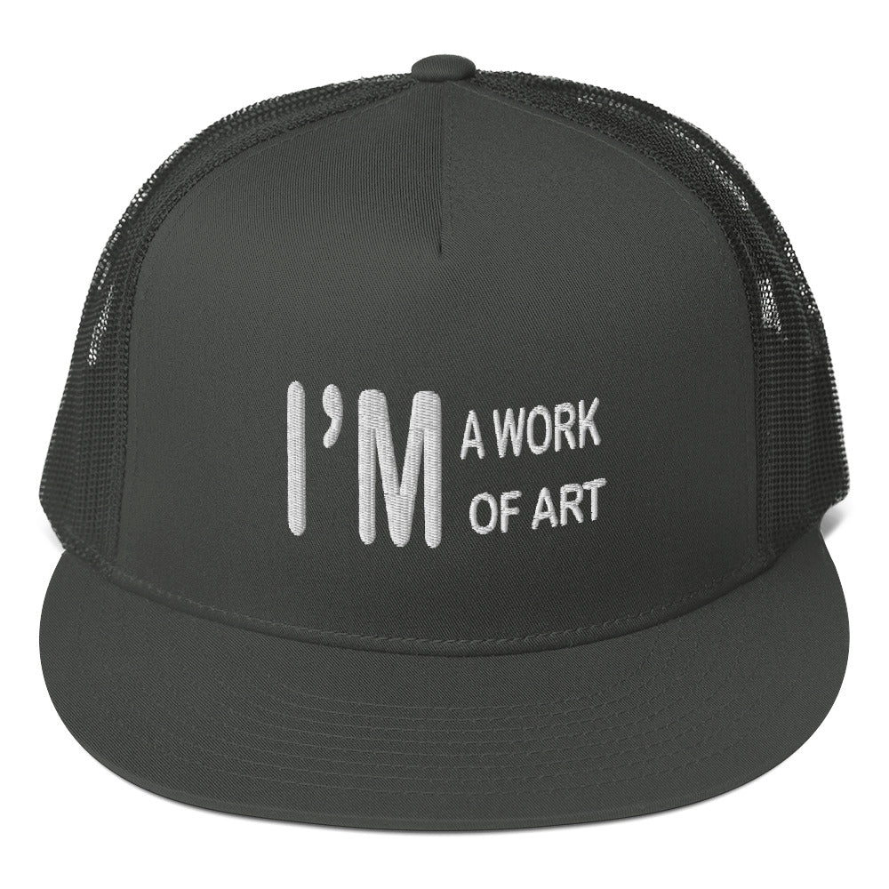 I'm A Work Of Art - Mesh Snapback