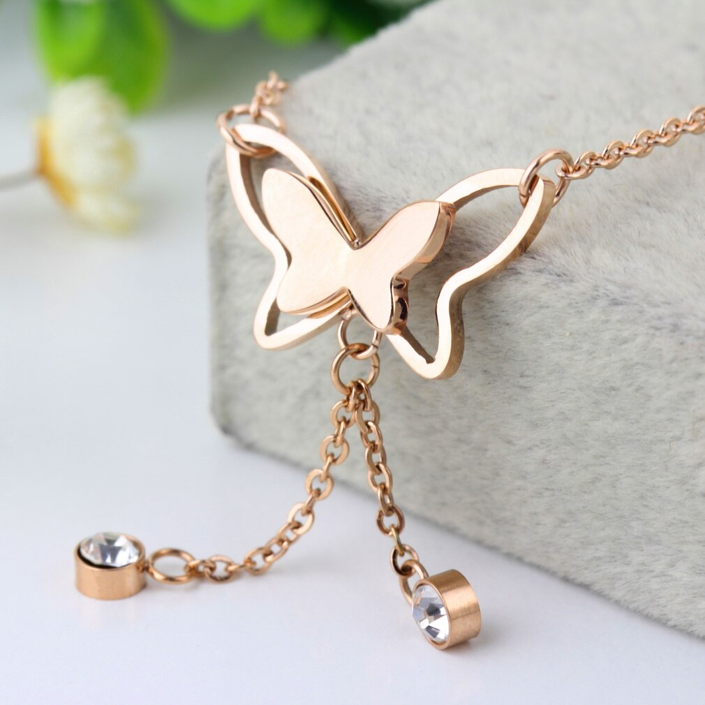BUTTERFLY BAREFOOT ANKLET