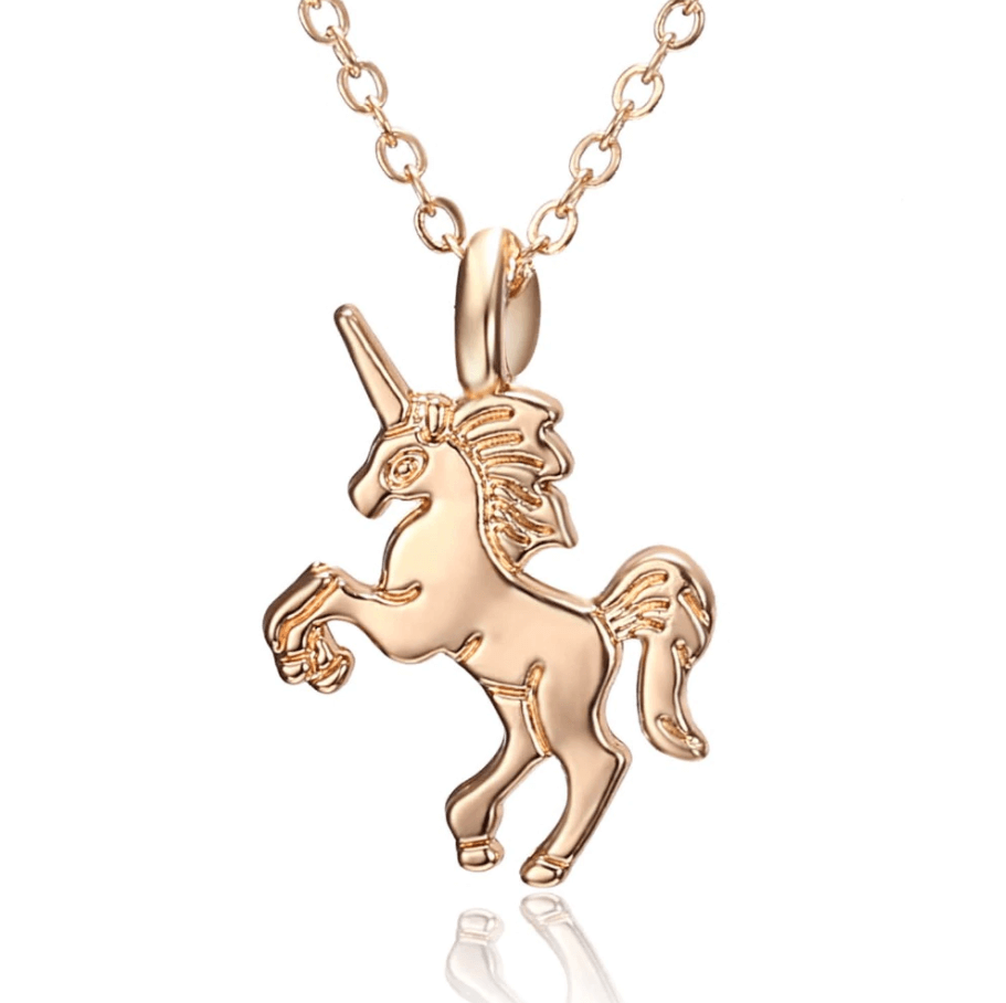 THE WILD LIFE COLLECTION - UNICORN NECKLACE