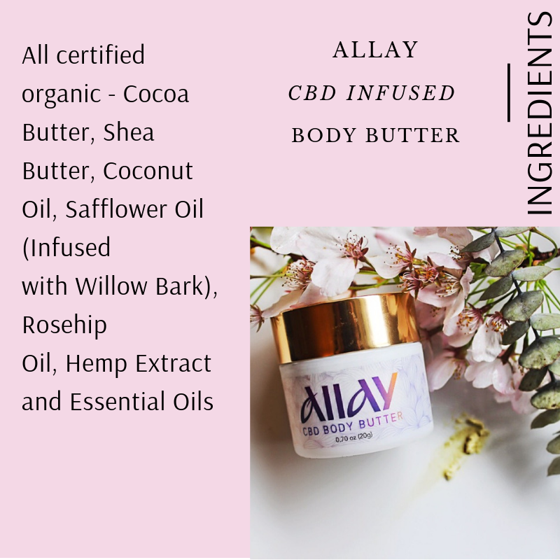 INFUSED BODY BUTTER BY ALLAY