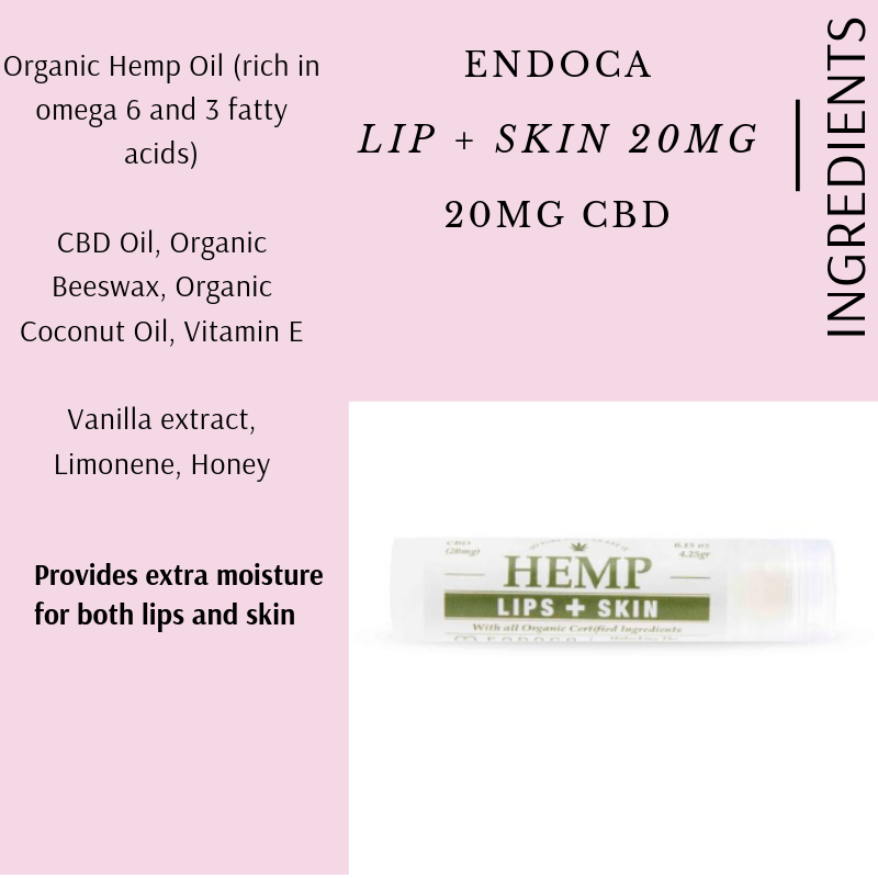 LIP + SKIN BY ENDOCA