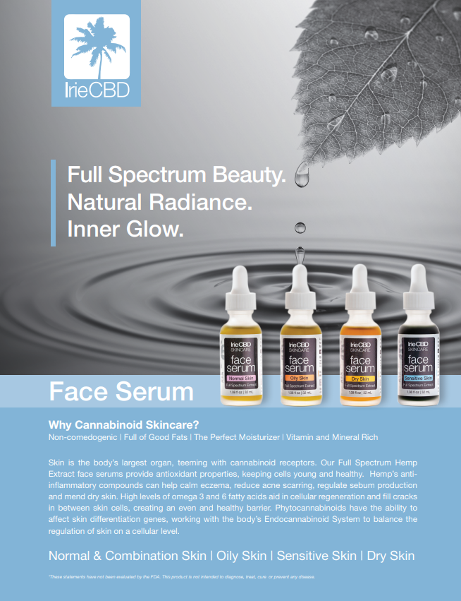 FACE SERUM-DRY SKIN BY IRIE