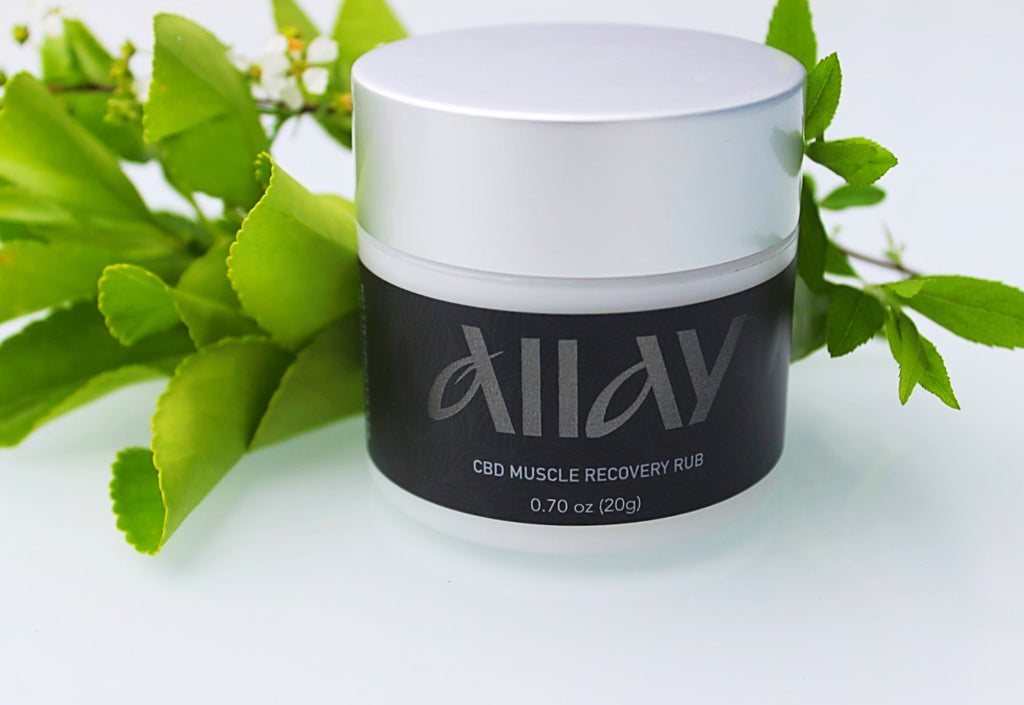 MUSCLE RECOVERY RUB BY ALLAY