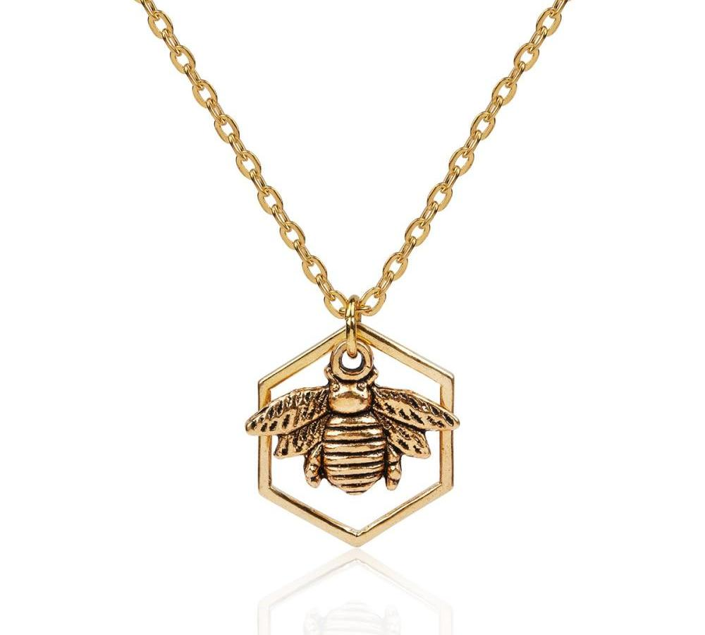 THE WILD LIFE COLLECTION - QUEEN BEE NECKLACE
