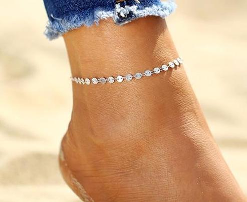THE WHIMSY COLLECTION - BEACH BABE BAREFOOT ANKLET