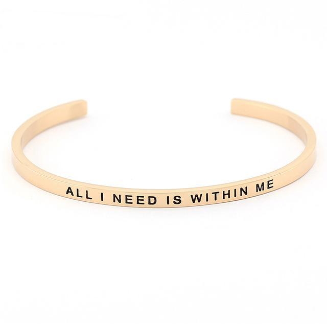 THE WHIMSY COLLECTION - LOVE ME GOLD BRACELETS