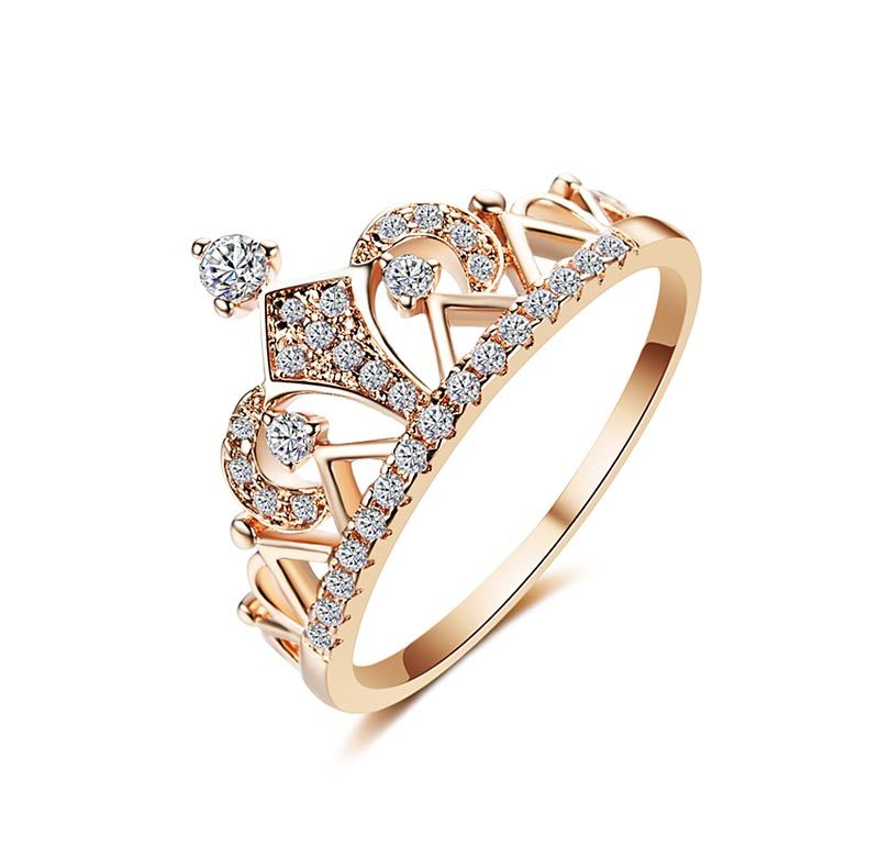 THE SOL COLLECTION - LA REINA ROSE GOLD RING