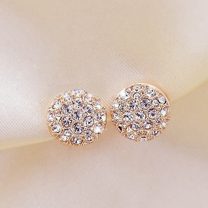 THE SOL COLLECTION - ROUND STARBURST STUD EARRINGS