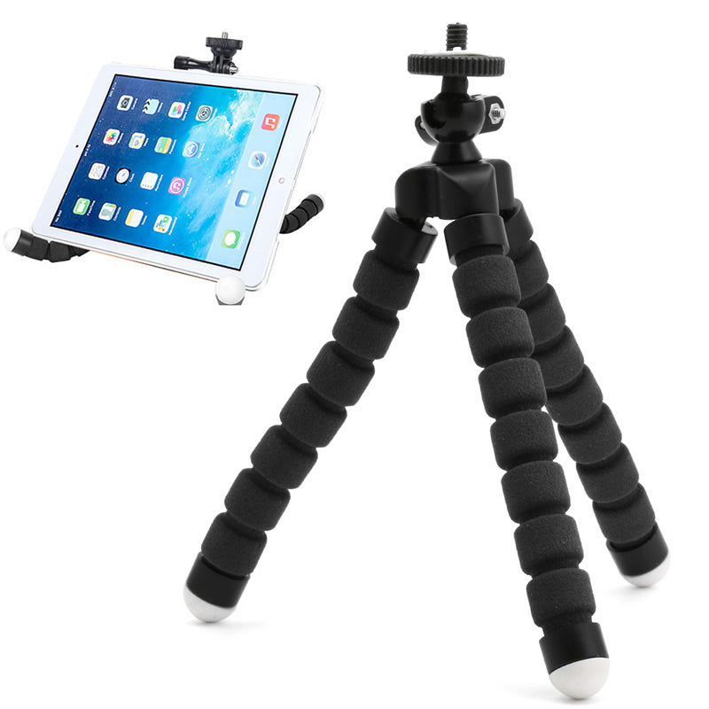 FLEXIBLE TRIPOD STAND (INCLUDING SMARTPHONE MOUNT AND CAMERA MOUNT ADAPTER)