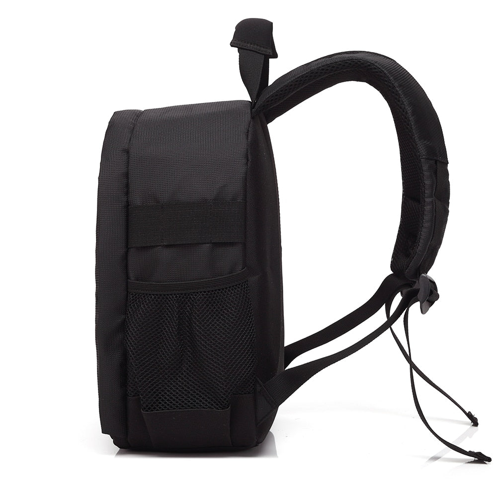 LUXE WATERPROOF PHOTOGRAPHY BACKPACK FOR DSLR CAMERA (TRIPOD AVAILABLE)
