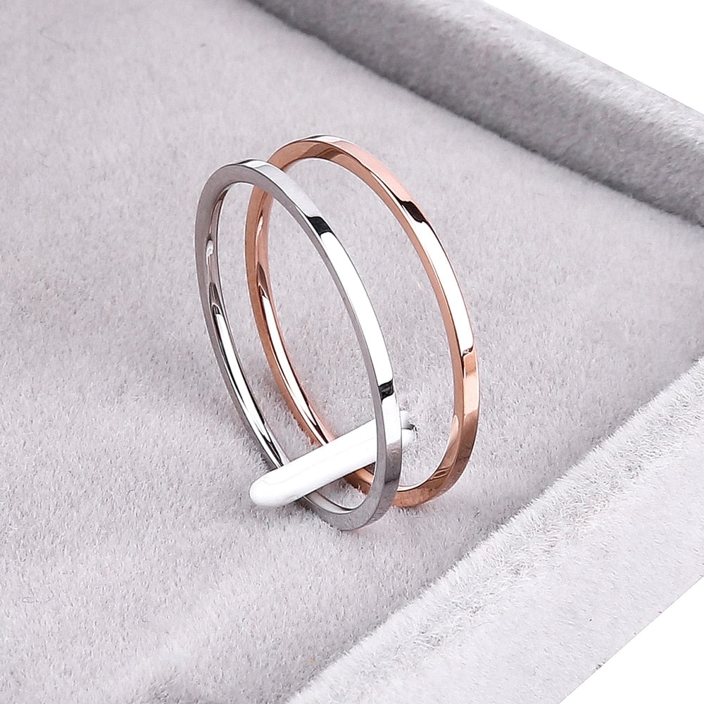 THE WHIMSY COLLECTION - CIRCLE OF LOVE BAND (1.2mm)