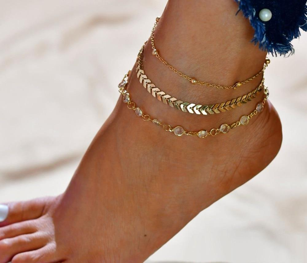 THE WHIMSY COLLECTION - MYSTIC BAREFOOT ANKLET