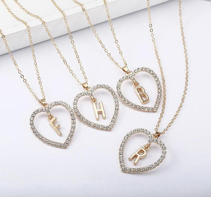 THE SOL COLLECTION - MIA INITIAL NECKLACE