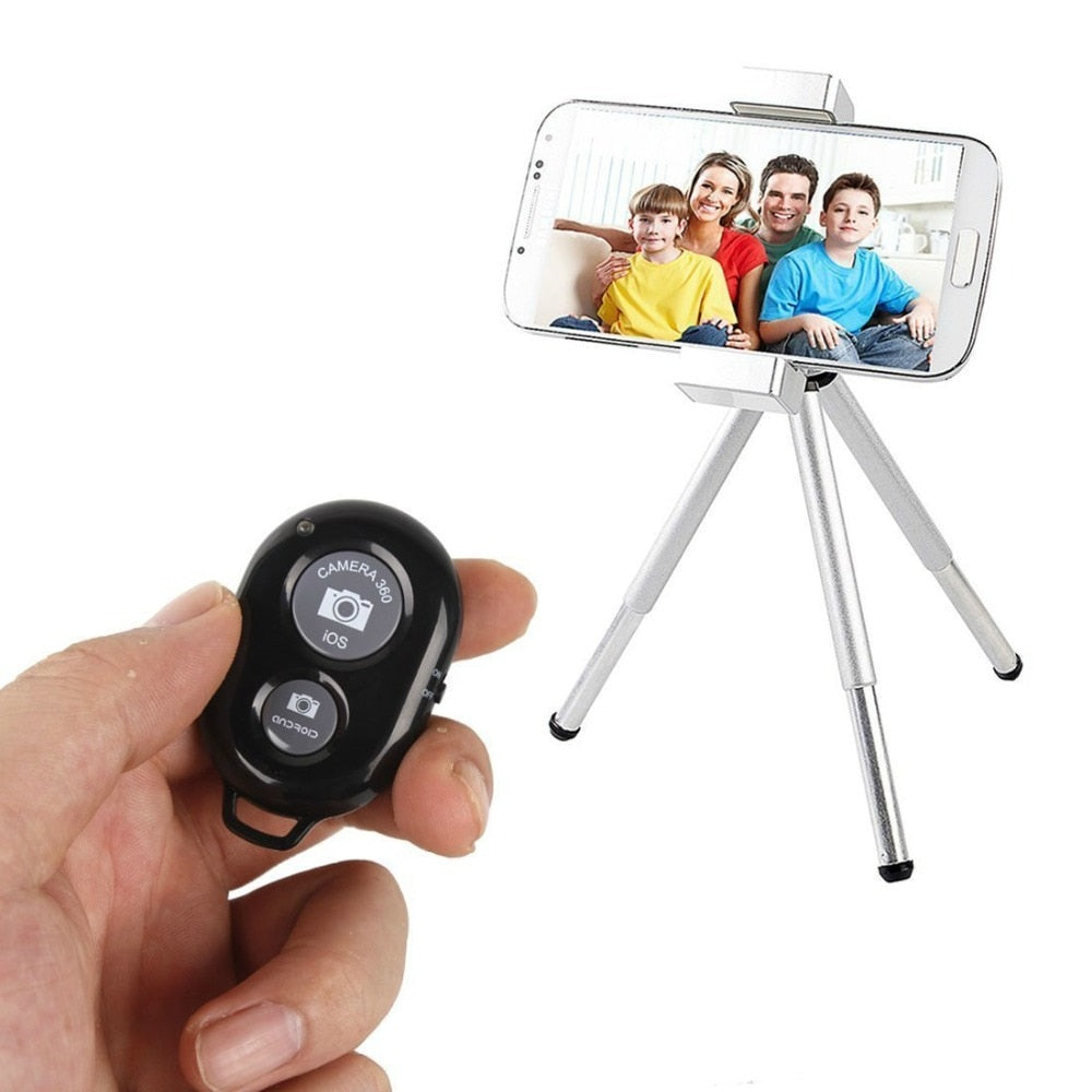 BLUETOOTH CAMERA SHUTTER REMOTE FOR SMARTPHONES & TABLETS