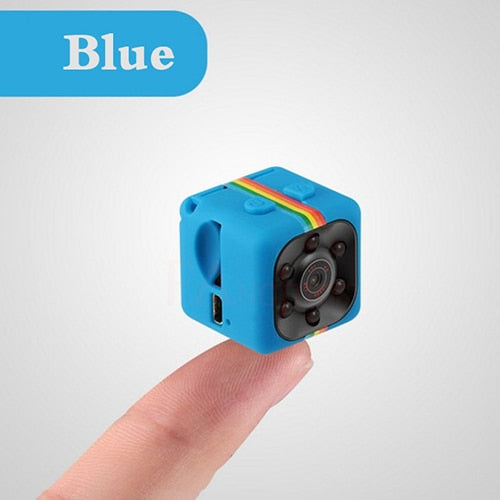 MINI HD 1080P CAMERA/CAMCORDER KIT WITH NIGHT VISION, MOTION SENSOR & DVR (8/16/32GB TF CARD ONLY OPTION AVAILABLE)