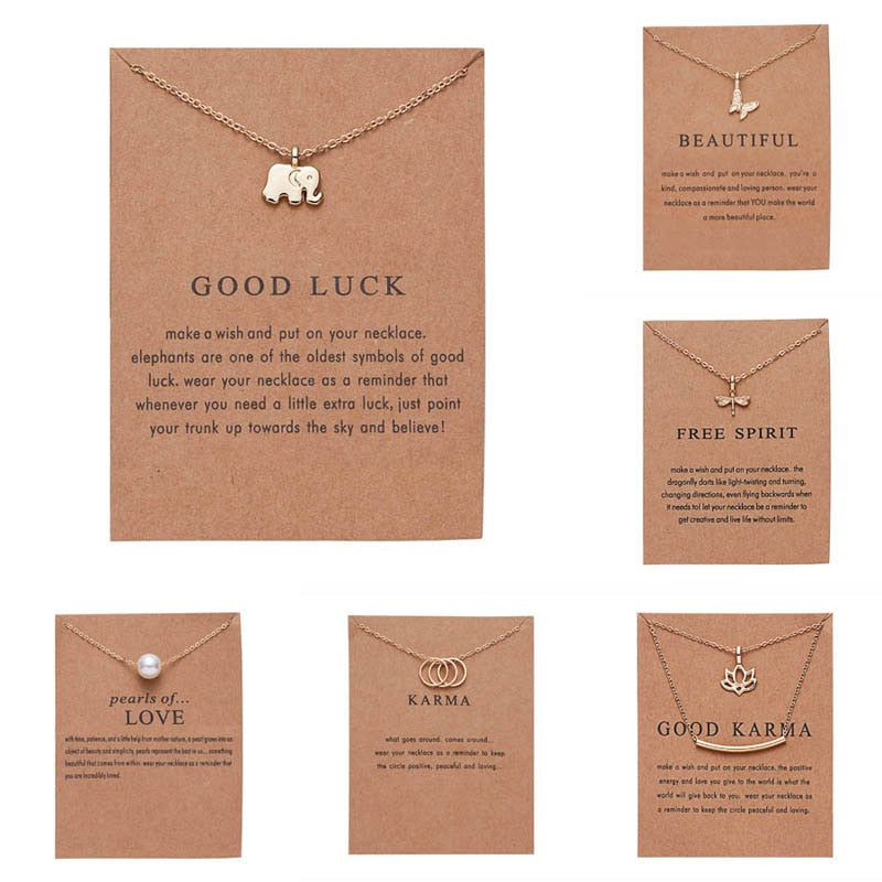 THE WILD LIFE COLLECTION - KARMA WISH NECKLACES
