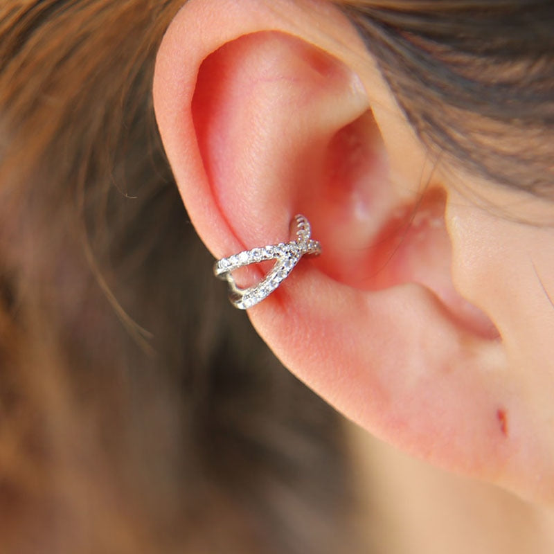 THE SOL COLLECTION - ETERNAL PAVE EAR CUFF