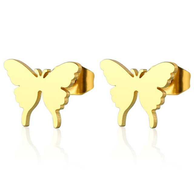THE WILD LIFE COLLECTION - BUTTERFLY EARRINGS