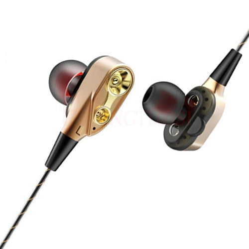 LUXE EARBUD HEADPHONES WITH MIC