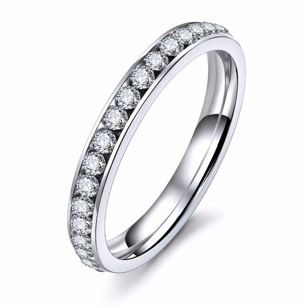 THE SOL COLLECTION - INFINITY DEAUX PAVE BAND