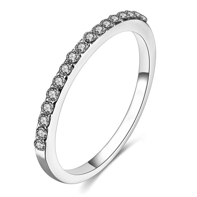 THE SOL COLLECTION - INFINITY PAVE BAND