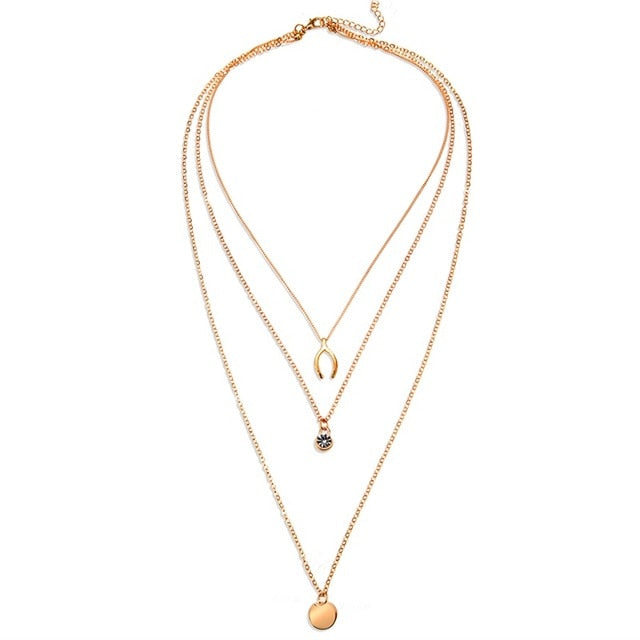 THE WHIMSY COLLECTION - GODDESS MULTI-LAYER NECKLACES