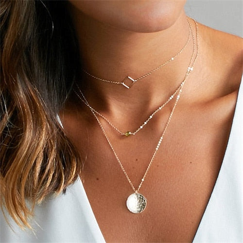 THE WHIMSY COLLECTION - ARIA MULTI-LAYER NECKLACES