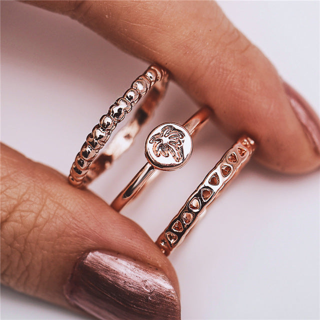 THE SOL COLLECTION - OAHU RING SET