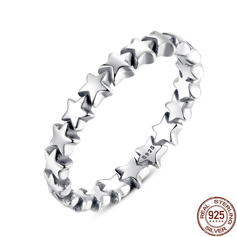 THE SOL COLLECTION - STARLET STERLING SILVER BAND