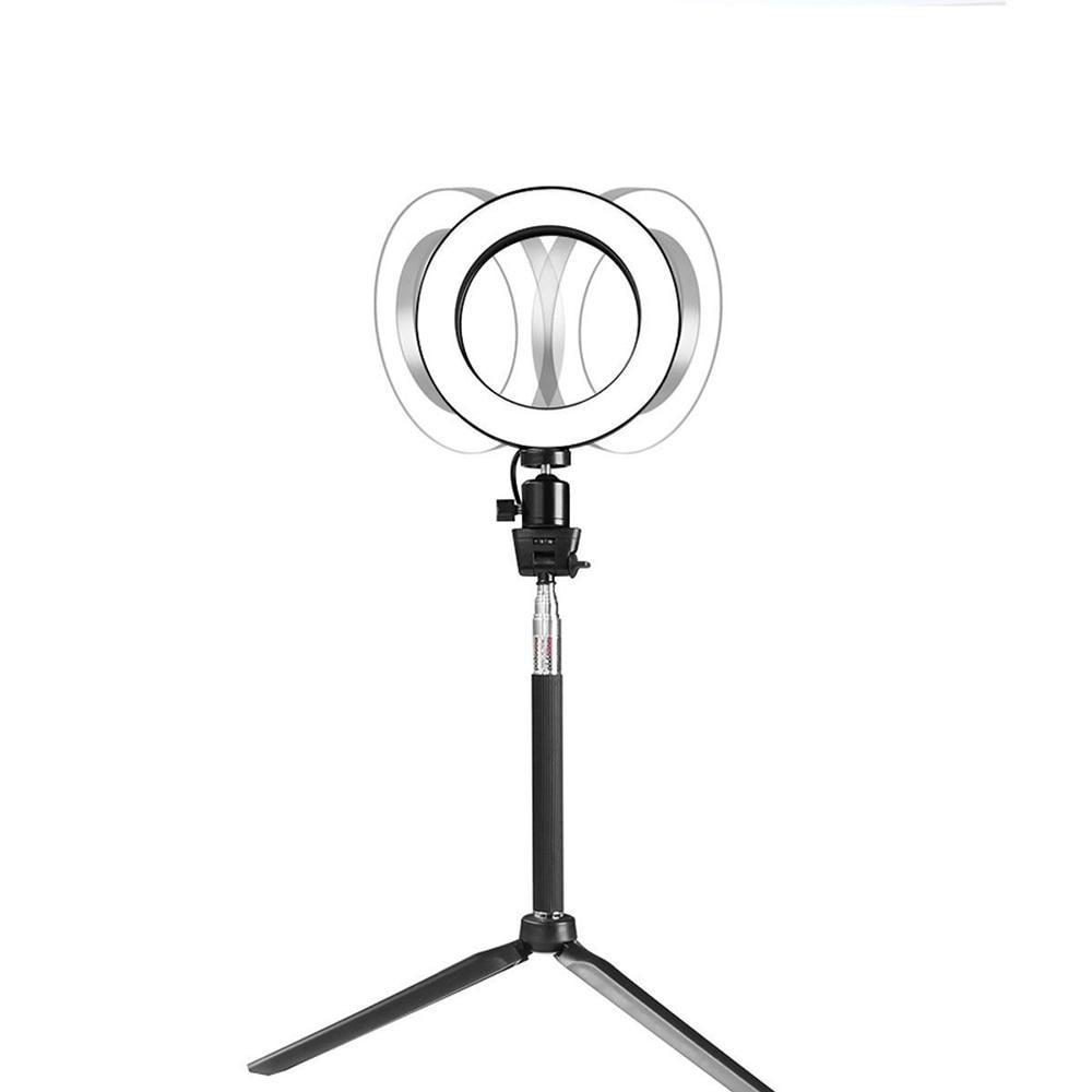 8 INCH MINI TABLETOP LED RING LIGHT KIT