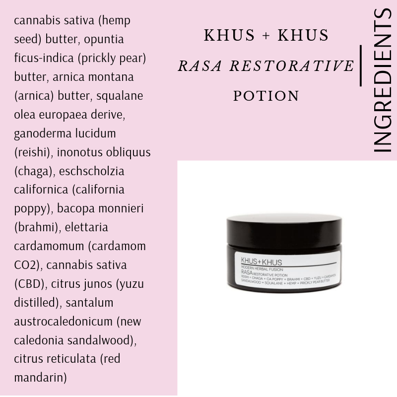 RASA RESTORATIVE POTION BY KHUS + KHUS