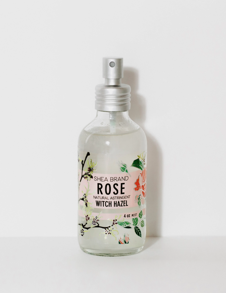 ROSE WITCH HAZEL BY SHEA BRAND