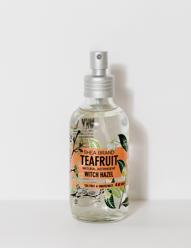 TEAFRUIT WITCH HAZEL BY SHEA BRAND