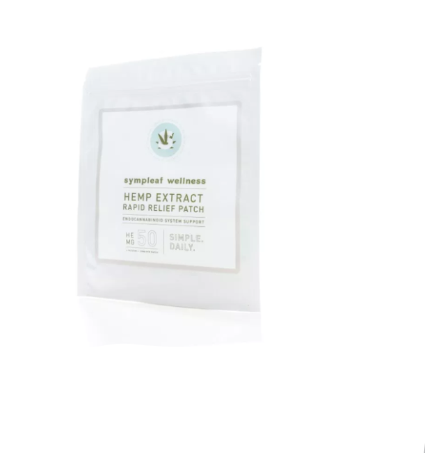 WELLNESS RELIEF PATCH  BY THE GEORGIA HEMP COMPANY (2CT)