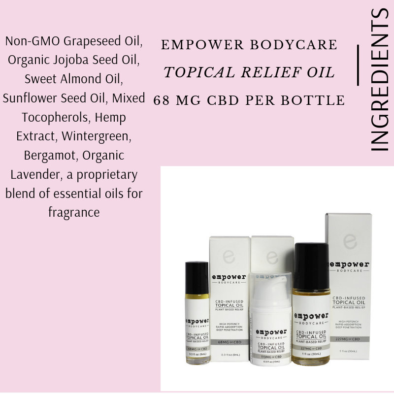 TOPICAL RELIEF OIL BY EMPOWER