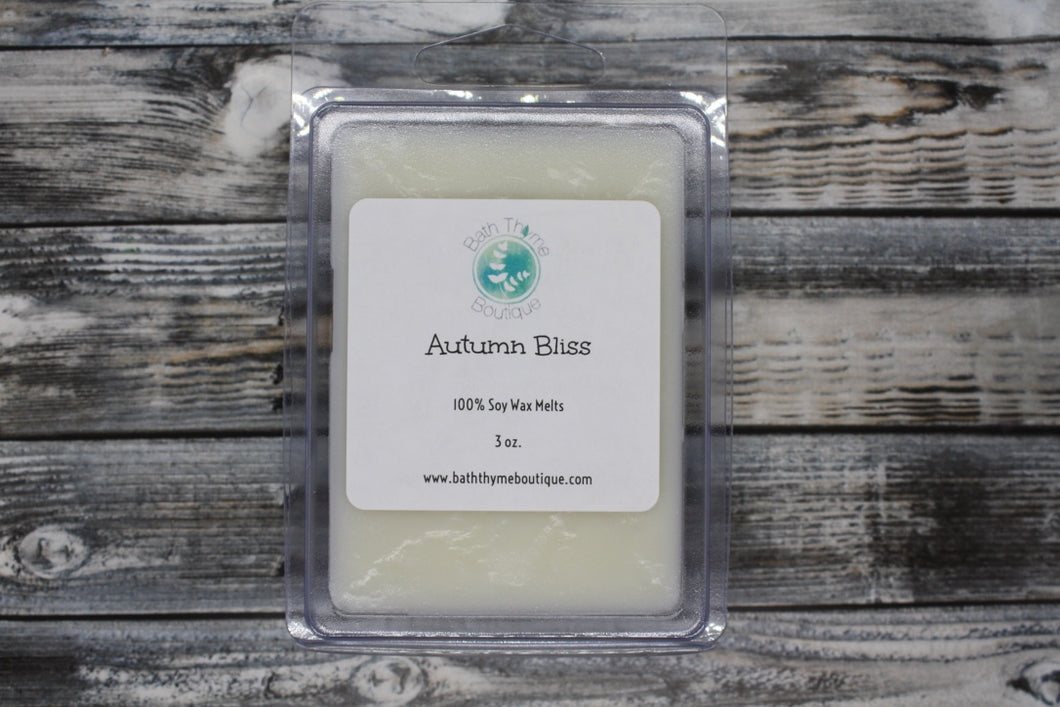 Autumn Bliss Soy Wax Melts