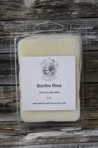 Bonfire Bliss Soy Wax Melts