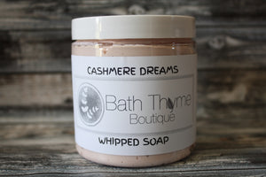 Cashmere Dreams Whipped Soap