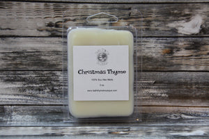 Christmas Thyme Soy Wax Melts