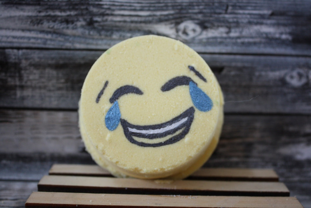 Laughing Tears Emoji Bath Bomb