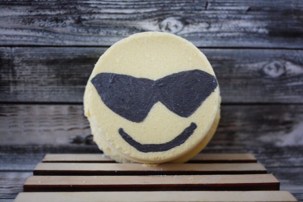 Sunglasses Emoji Bath Bomb