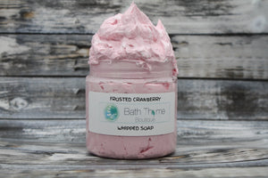 Frosted Cranberry Whipped Soap