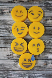 "Rainforest ""Happy"" Emoji Soaps"