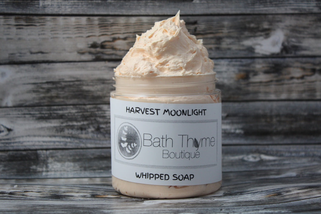 Harvest Moonlight Whipped Soap