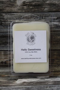 Hello Sweetness Soy Wax Melts
