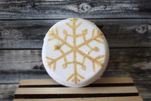 Hot Cocoa Snowflake Shower Bomb