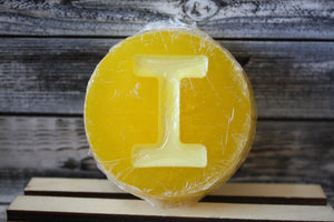 """I"" Yellow Personalized Soap"