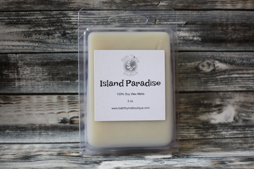 Island Paradise Soy Wax Melts
