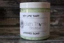 Key Lime Tart Whipped Soap